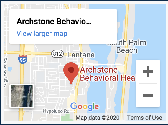 archstone behavioral health map